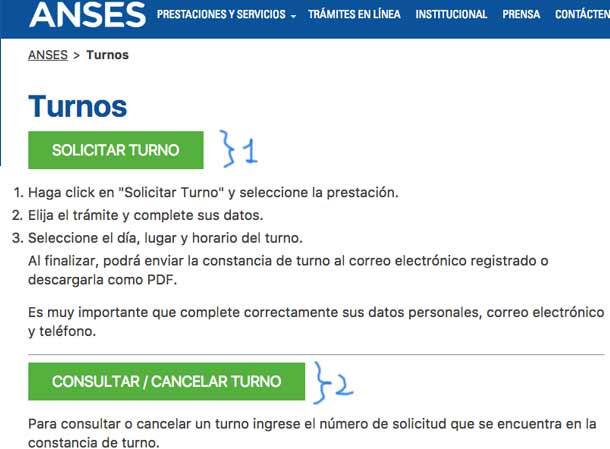 ANSES turnos online