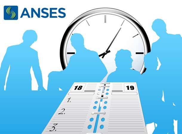 Horarios para turnos ANSES